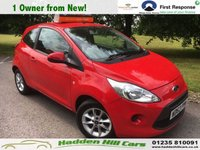 USED 2013 63 FORD KA 1.2 EDGE 3d 69 BHP 1 Owner From New!