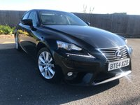 2014 LEXUS IS 2.5 300H EXECUTIVE EDITION 4d AUTO 179 BHP £13985.00