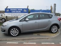 USED 2013 62 VAUXHALL ASTRA 1.6 ACTIVE 5d 113 BHP 6 Stamps Of service History .1 Former Keepers .New MOT & Full Service Done on purchase + 2 Years FREE Mot & Service Included After . 3 Months Russell Ham Quality Warranty . All Car's Are HPI Clear . Finance Arranged - Credit Card's Accepted . for more cars www.russellham.co.uk  - Owners Book Pack