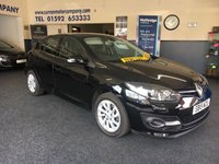 USED 2015 15 RENAULT MEGANE 1.5 DYNAMIQUE TOMTOM ENERGY DCI S/S 5d 110 BHP Massive Spec and ZERO Road Tax