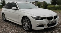 USED 2013 63 BMW 3 SERIES 2.0 320D XDRIVE M SPORT TOURING 5d AUTO 181 BHP