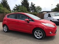 USED 2012 61 FORD FIESTA 1.4 ZETEC 16V 5d 1 OWNER FROM NEW NO DEPOSIT  FINANCE ARRANGED, APPLY HERE NOW