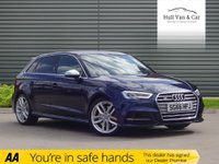 USED 2016 66 AUDI A3 2.0 S3 SPORTBACK QUATTRO 5d AUTO 306 BHP LOW MILES, POWER, GOOD SPEC