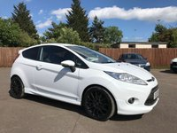 2010 FORD FIESTA 1.6 ZETEC S 3d IN THE BEST COLOUR WHITE £5800.00