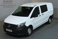 USED 2015 65 MERCEDES-BENZ VITO 1.6 111 CDI 114 BHP LWB A/C 6 SEATER COMBI VAN ONE OWNER FROM NEW, SERVICE HISTORY