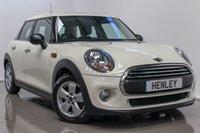 2015 MINI HATCH ONE 1.2 ONE 5d 101 BHP £9990.00