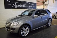 2010 MERCEDES-BENZ M CLASS 3.0 ML300 CDI BLUEEFFICIENCY SPORT 5d AUTO 204 BHP £13199.00