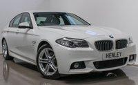 2015 BMW 5 SERIES 2.0 520D M SPORT 4d AUTO 188 BHP £16990.00