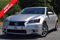 2014 LEXUS GS 2.5 300H LUXURY 4d AUTO 220 BHP £17690.00