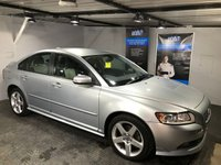 USED 2008 08 VOLVO S40 2.0 SPORT D 4d 135 BHP R-Design steering wheel : R-Design T-Tec/leather upholstery           :           Climate Control  /  Air-Conditioning           : Fully stamped service history