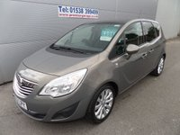 USED 2012 62 VAUXHALL MERIVA 1.4 SE 5d 99 BHP ONLY 15000 MILES PANORAMIC ROOF