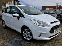 USED 2013 13 FORD B-MAX 1.4 ZETEC 5d 89 BHP THIS IS ONLY A 2 OWNER FROM NEW , COMES WITH FORDS FAST CLEAR SCREEN