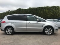 2010 FORD S-MAX 2.0 TDCI TITANIUM  5d  ONE OWNER FROM NEW WITH 6 SERVICES  £8250.00