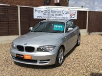 USED 2010 60 BMW 1 SERIES 2.0 118D SPORT 2dr 141 BHP A LOW MILEAGE EXAMPLE - 3 MONTHS PREMIUM WARRANTY