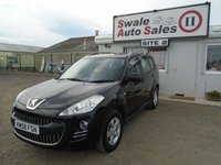 USED 2009 58 PEUGEOT 4007 2.2 SE HDI 155 BHP £29 PER WEEK OVER 5 YEARS, NO DEPOSIT - SEE FINANCE LINK