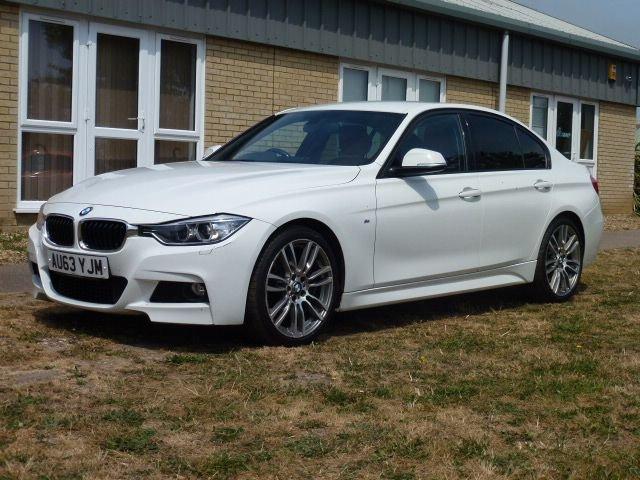 2013 63 BMW 3 SERIES 2.0 320D M SPORT 4d AUTO 181 BHP