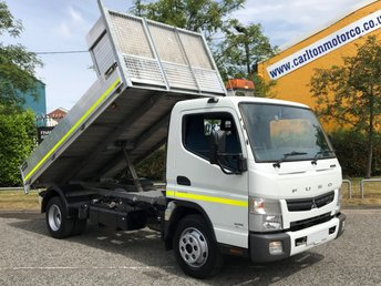 2014 MITSUBISHI FUSO CANTER 3.0 7C15 34 150 TIPPER ALLOY BODY [ LOW MILEAGE 9,460 ] FREE UK DELIVERY ]  £22450.00