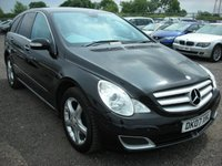 2007 MERCEDES-BENZ R CLASS 3.0 R320 CDI SPORT 5d AUTO 224 BHP £5000.00