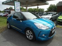 USED 2012 12 CITROEN DS3 1.6 DSTYLE 3d 120 BHP