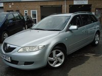 USED 2004 54 MAZDA 6 2.0 TS 5d 140 BHP ONLY 2 FORMER KEEPER+NEW MOT