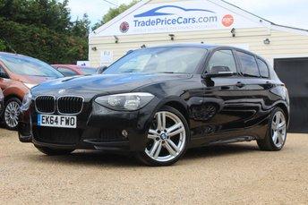 2015 BMW 1 SERIES 2.0 116D M SPORT 5d AUTO 114 BHP £14950.00