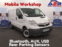 USED 2013 63 VAUXHALL VIVARO 2.0 2700 CDTI 115 BHP Mobile Workshop,Bluetooth Connectivity, 6 Speed Gear Box **Drive Away Today**  01709 866668