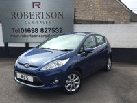 USED 2010 10 FORD FIESTA 1.4 ZETEC 16V 5dr GREAT LOOKING AFFORDABLE SMALL 5 DOOR HATCH