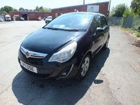 USED 2011 11 VAUXHALL CORSA 1.2 SXI A/C 5d 83 BHP