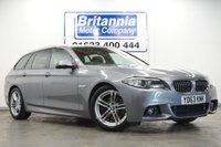 2013 BMW 5 SERIES 2.0 520D DIESEL M SPORT TOURING AUTOMATIC 181 BHP £16590.00