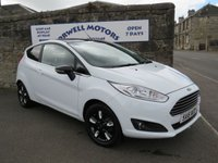 2016 FORD FIESTA 1.2 ZETEC WHITE EDITION AUTUMN 3d 81 BHP £8500.00
