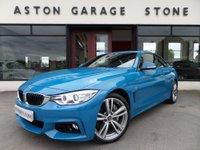 2016 BMW 4 SERIES 3.0 435D XDRIVE M SPORT 2d AUTO 309 BHP *LAGUNA SECA BLUE* £23950.00