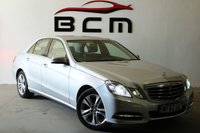 2013 MERCEDES-BENZ E CLASS 2.1 E220 CDI BLUEEFFICIENCY S/S AVANTGARDE 4d AUTO 170 BHP £SOLD