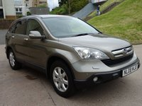 USED 2008 08 HONDA CR-V 2.2 I-CTDI ES 5d 139 BHP 2 PREVIOUS KEEPERS +  SERVICE RECORD +   FULL YEAR MOT +  FRONT AND REAR PARKING SENSORS +  CRUISE CONTROL