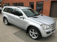 USED 2007 07 MERCEDES-BENZ GL CLASS 4.0 GL420 CDI 5d AUTO 302 BHP Bluetooth : 7-Seater : Full leather upholstery : Heated front seats : Electric driver + passenger seats : Automatic lights    :    Mercedes hill descent control    :    Front and rear parking sensors  : Fully documented service history