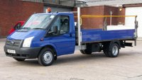 2013 FORD TRANSIT 2.2 350 100 RWD 1d 99 BHP 1 OWNER F/S/H 2 KEYS  X LONG WB // DROPSIDE WITH TAIL LIFT £8990.00