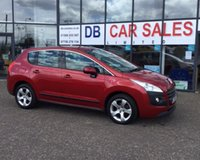 USED 2010 59 PEUGEOT 3008 1.6 SPORT HDI 5d 110 BHP NO DEPOSIT AVAILABLE, DRIVE AWAY TODAY!!