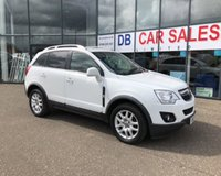 USED 2012 12 VAUXHALL ANTARA 2.2 EXCLUSIV CDTI 4WD S/S 5d 161 BHP NO DEPOSIT AVAILABLE, DRIVE AWAY TODAY!!