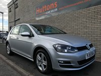 2015 VOLKSWAGEN GOLF 2.0 MATCH TDI BLUEMOTION TECHNOLOGY DSG 5d AUTO 148 BHP £12795.00