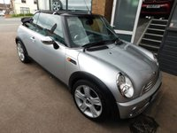 USED 2006 MINI CONVERTIBLE 1.6 COOPER 2d 114 BHP