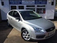 USED 2006 06 FORD FOCUS 1.6 SPORT 3d 100 BHP 59K FSH 2 OWNERS POPULAR SPORT MODEL IN EXCELLENT CONDITION