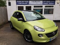 USED 2013 63 VAUXHALL ADAM 1.2 GLAM 3d 69 BHP 39K 2 LADY OWNERS HIGH SPEC BEAUTIFUL COLOUR EXCELLENT CONDITION