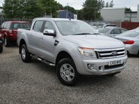 2015 FORD RANGER 2.2 LIMITED 4X4 DCB TDCI 1d AUTO 148 BHP £14995.00