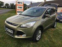 2013 FORD KUGA 2.0 TITANIUM TDCI AWD 163PS FULL HISTORY GOOD SPEC VERY WELL LOOKED AFTER CAR £10495.00