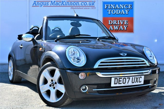 2007 07 MINI CONVERTIBLE 1.6 COOPER Great Value for Money Fun Summer Convertible