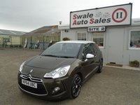 USED 2014 64 CITROEN DS3 1.6 E-HDI DSTYLE PLUS 90 BHP £39 PER WEEK, NO DEPOSIT - SEE FINANCE LINK
