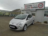 USED 2012 61 FORD KA 1.2 METAL 3d 69 BHP £27 PER WEEK, NO DEPOSIT - SEE FINANCE LINK