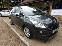 2011 PEUGEOT 3008 2.0 HDI EXCLUSIVE 5d AUTO 163 BHP £SOLD