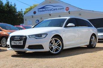2012 AUDI A6 2.0 AVANT TDI S LINE 5d AUTO 175 BHP £13450.00