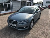 USED 2009 59 AUDI A3 1.6 TDI SE 3d 103 BHP FULL SERVICE HISTORY-£20 TAX-6 STAMPS-1 FORMER KEEPER-START/STOP