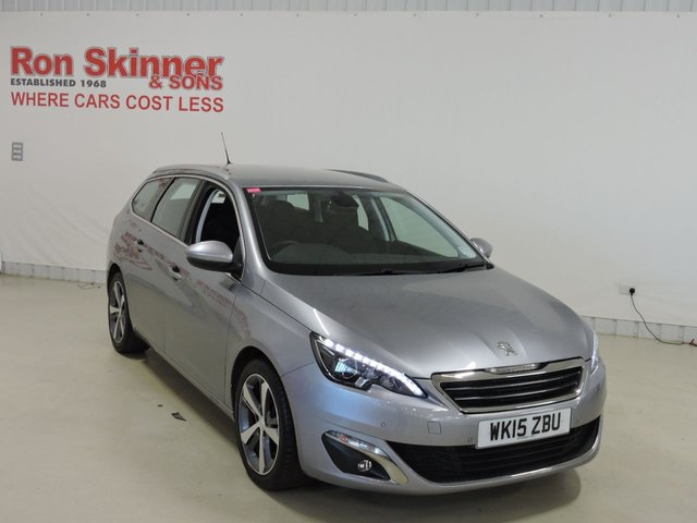 View our 2015 15 PEUGEOT 308 1.6 HDI S/S SW ALLURE 5d 115 BHP
